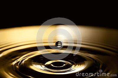 Bubble Rings Royalty Free Stock Photos.