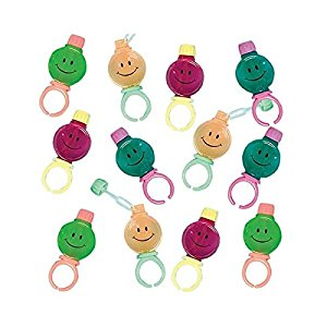 Amazon.com: Amscan Cool Smile Bubble Rings Costume Party Accessory.