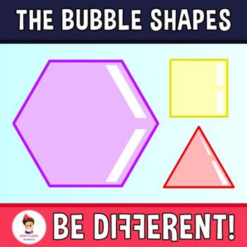 Bubble Shapes Clipart.