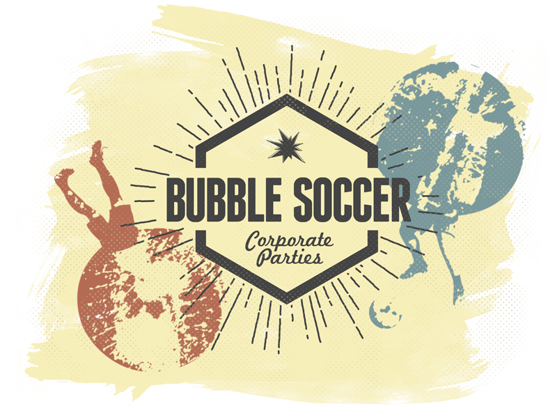 Bubble Soccer Corporate Party.