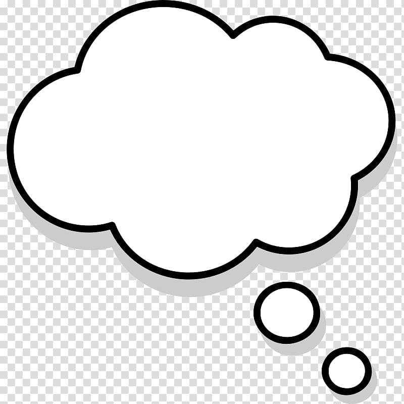 Cloud text , Thought Speech balloon , Comic Text Bubble transparent.