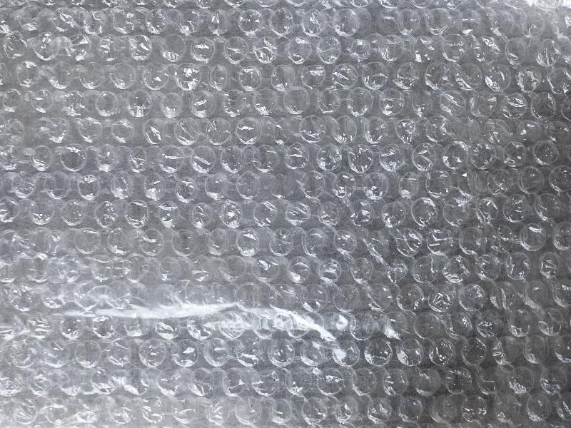 Bubble Wrap Plastic Texture Free (Paper).
