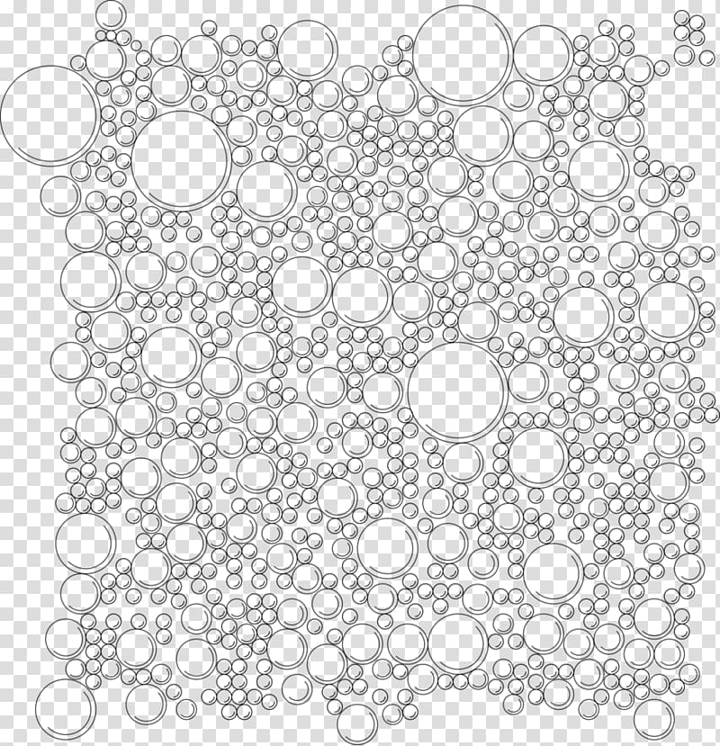 Texture mapping , white bubble transparent background PNG clipart.