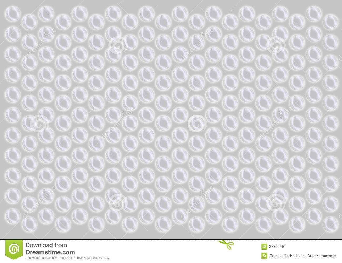 Bubble Wrap Pattern Stock Image.