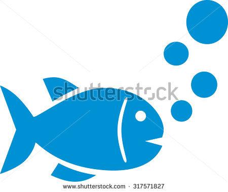Bubble Fish Stock Photos, Royalty.