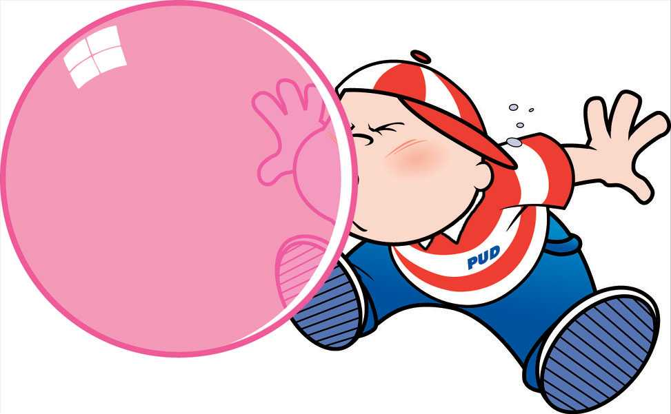 Bubble Gum Bubble Clipart.