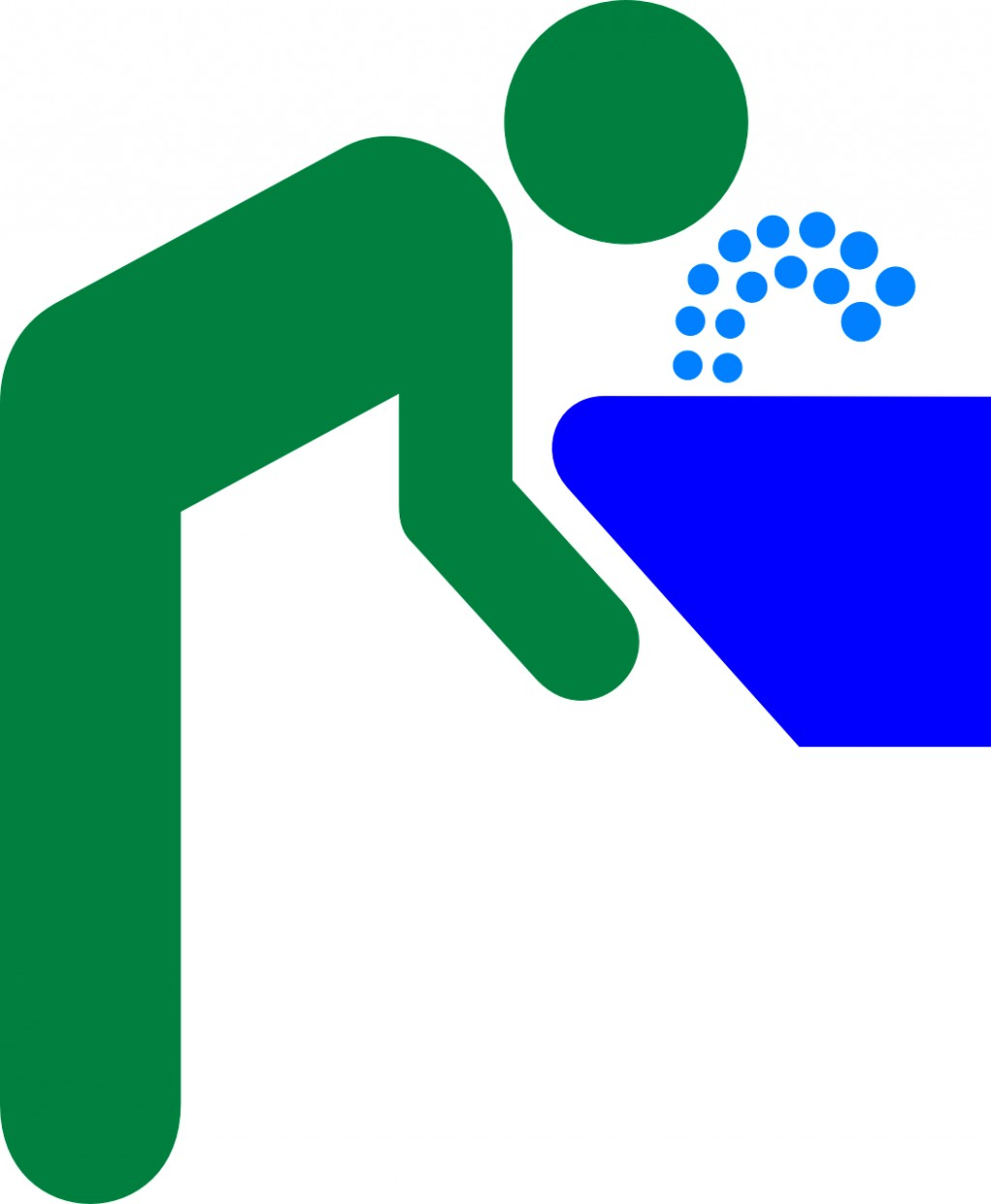 Water bubbler clipart.