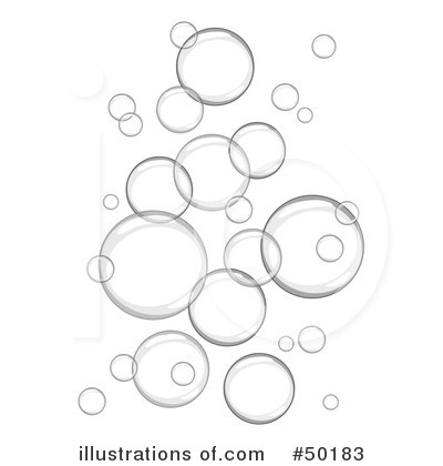 Clip Art Black And White Bubbles Clipart.
