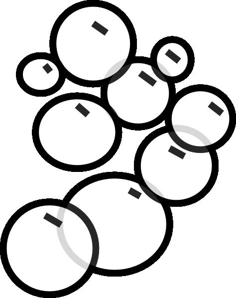 Free Bubble Clip Art Black And White, Download Free Clip Art, Free.