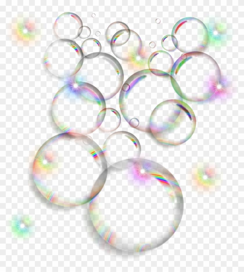 Bubbles Rainbow Colors Ftestickers Stickers Autocollant.