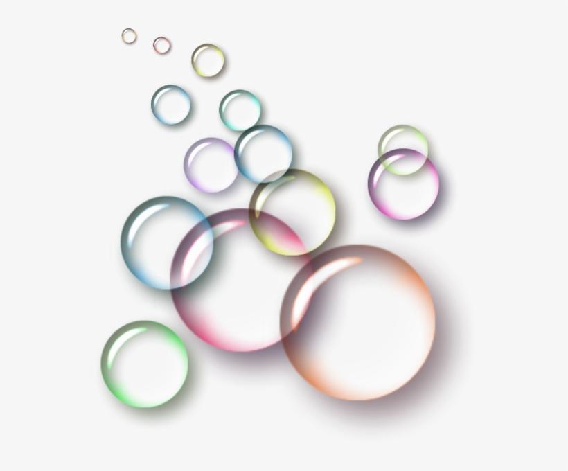 Bubble Transparent Colorful.