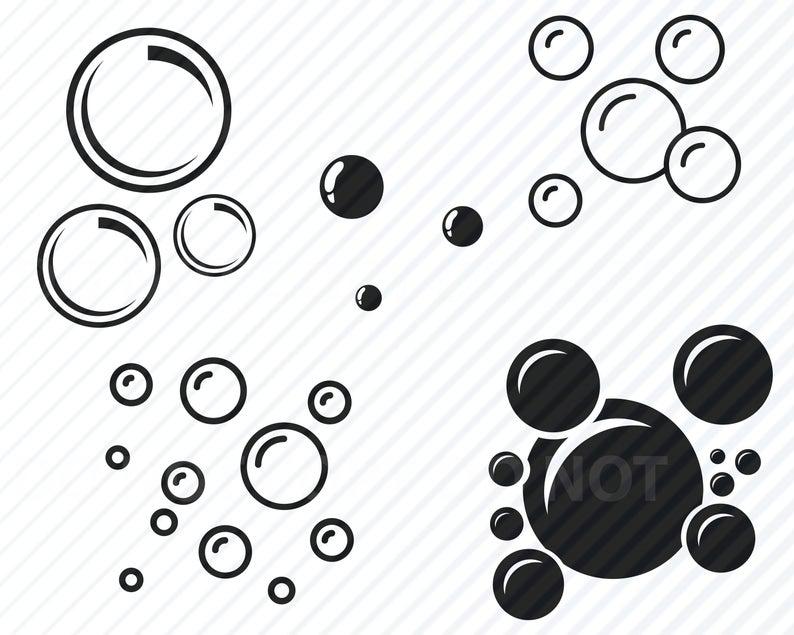 Bubbles SVG Bundle.