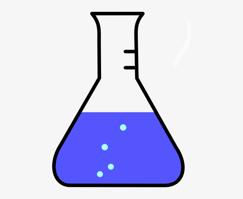 Flask Vector Bubble.