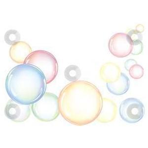 Free clip art bubbles.