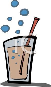 Bubbly Glass of Soda.