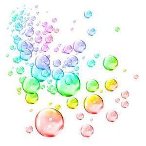 Bubble clip art images.