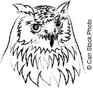 Bubo bubo Clip Art Vector Graphics. 117 Bubo bubo EPS clipart.