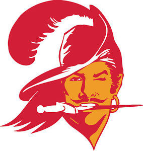 Details about Tampa Bay Buccaneers Throwback Logo Vinyl Decal / Sticker 5  sizes!!.