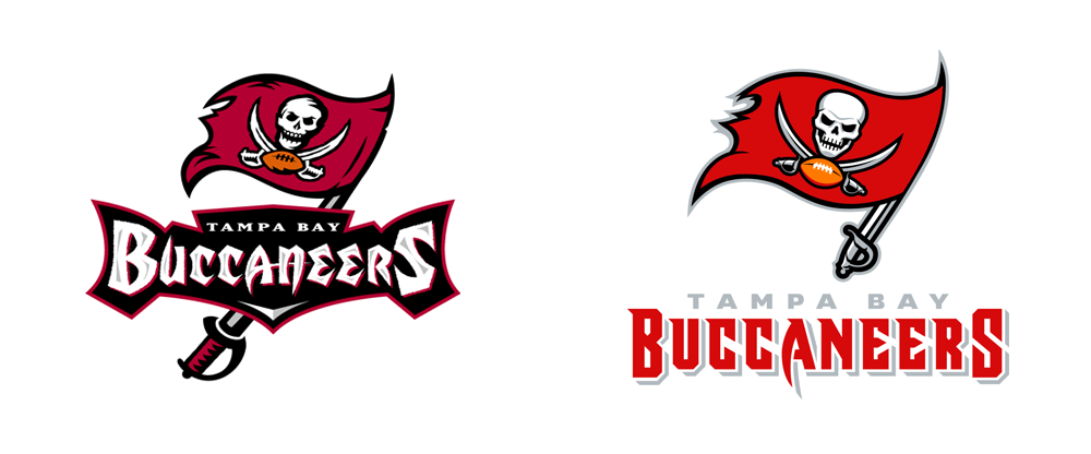 Brand New: New Logo, Identity, and Helmet for Tampa Bay.