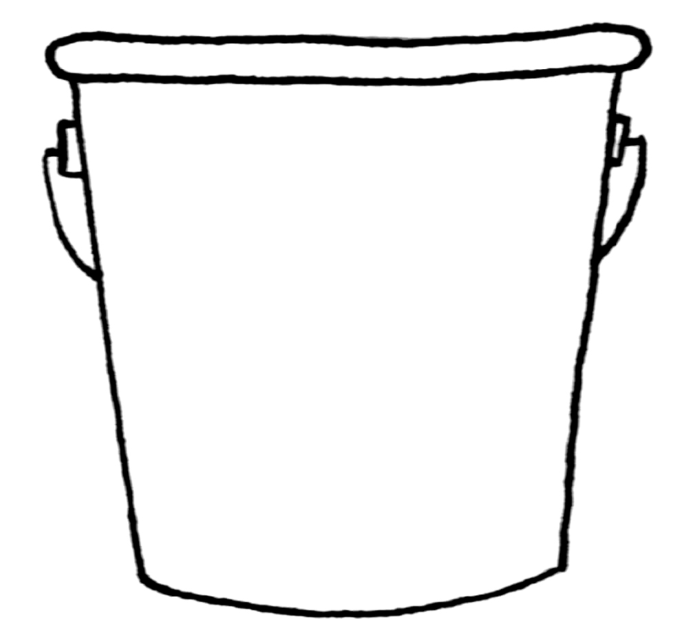 Bucket clipart images.