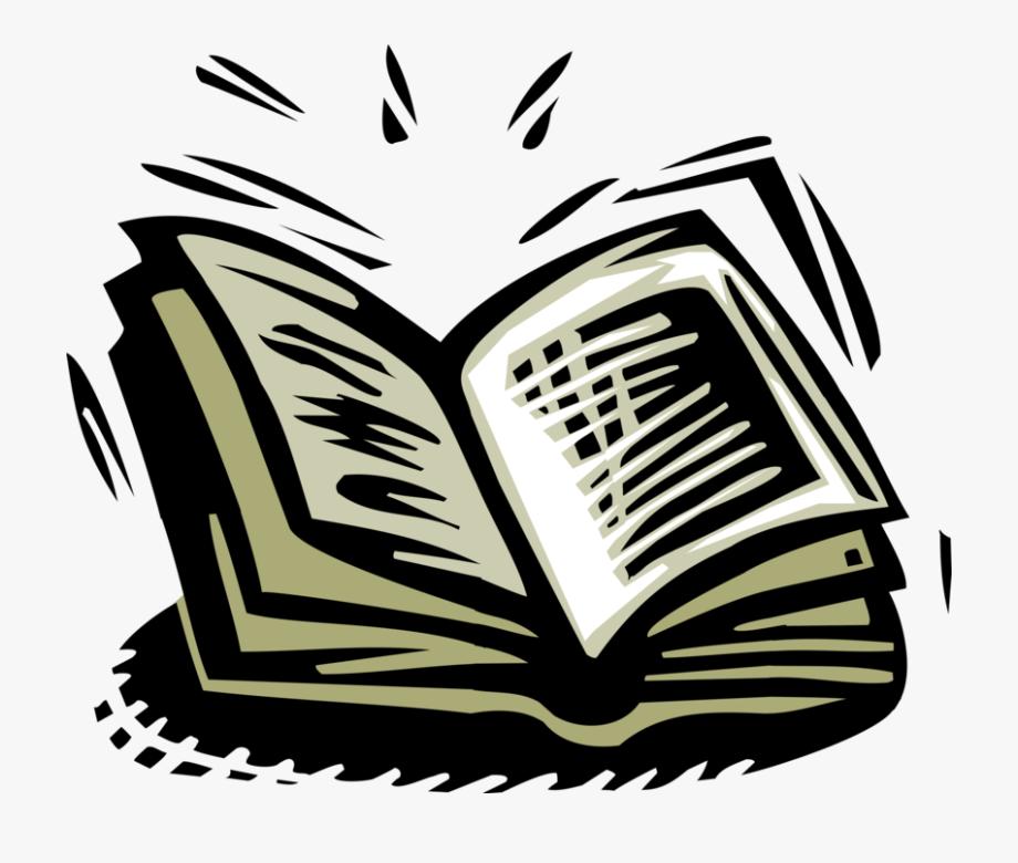 Open Book Vector Png.