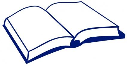 Open Book clip art Clipart Graphic.