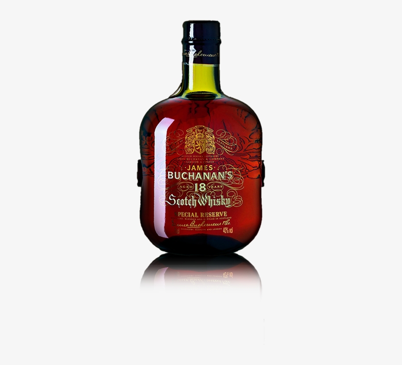 Buchanan\'s Blended Scotch Whisky 18 Years.