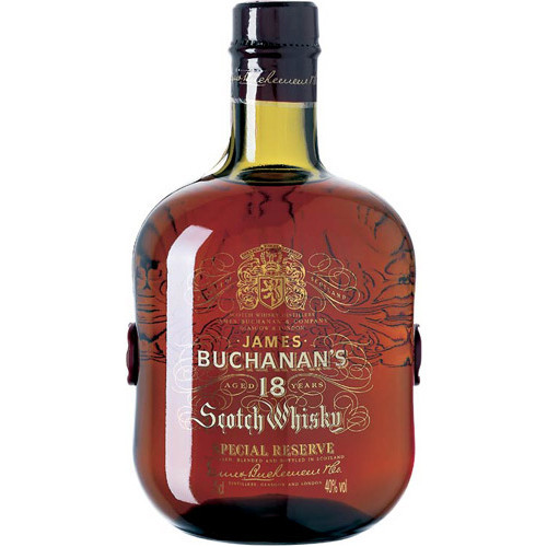 Buchanan's 18 Year Old Special Reserve Scotch.