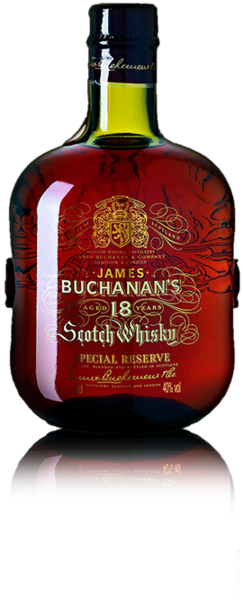 BUCHANAN'S BLENDED SCOTCH WHISKY 18 YEARS.