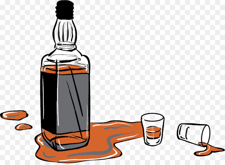 Liqueur Whiskey Glass bottle Buchanan\'s.