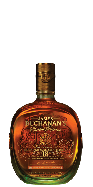 Buchanan's 18 Year Old Special Reserve.