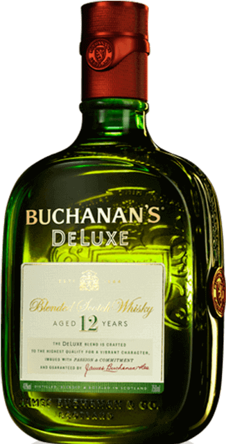 HD Buchanan's 12yr Scotch.