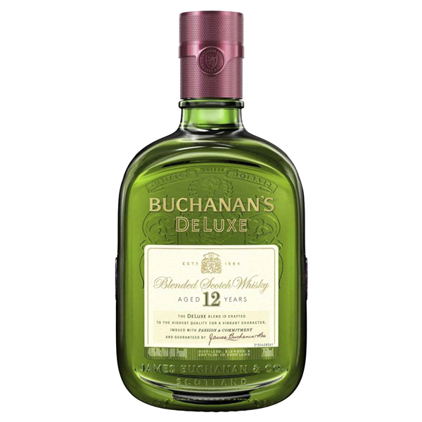 Buchanan's DeLuxe Aged 12 Years Blended Scotch Whisky, 750 mL (80 PF).
