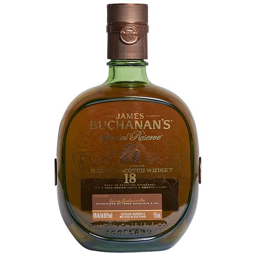 Buchanans 18 Year Blended Scotch Whisky 750ml.