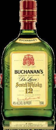 Buchanan's 12 Years Old Scotch Whisky.