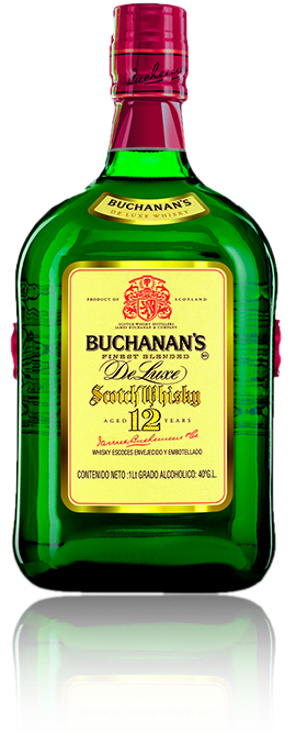 BUCHANAN'S BLENDED SCOTCH WHISKY 12 YEARS.