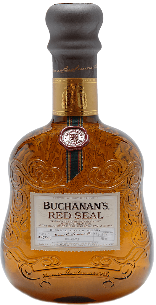 Buchanan's Red Seal Blended Scotch Whisky.