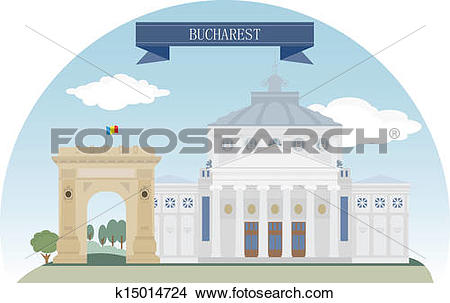 Clipart of Bucharest k15014724.