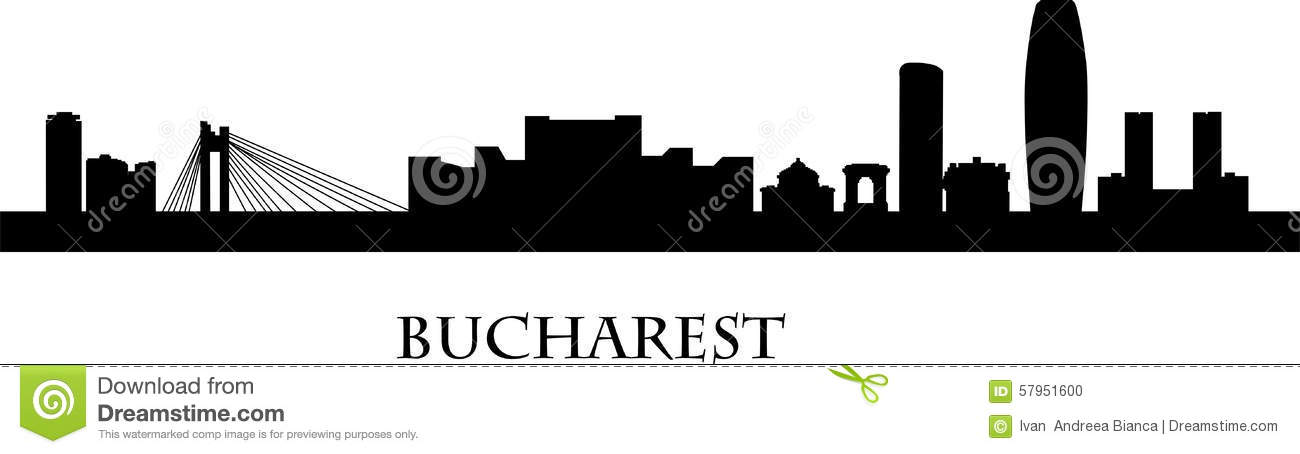 Bucharest Stock Illustrations.