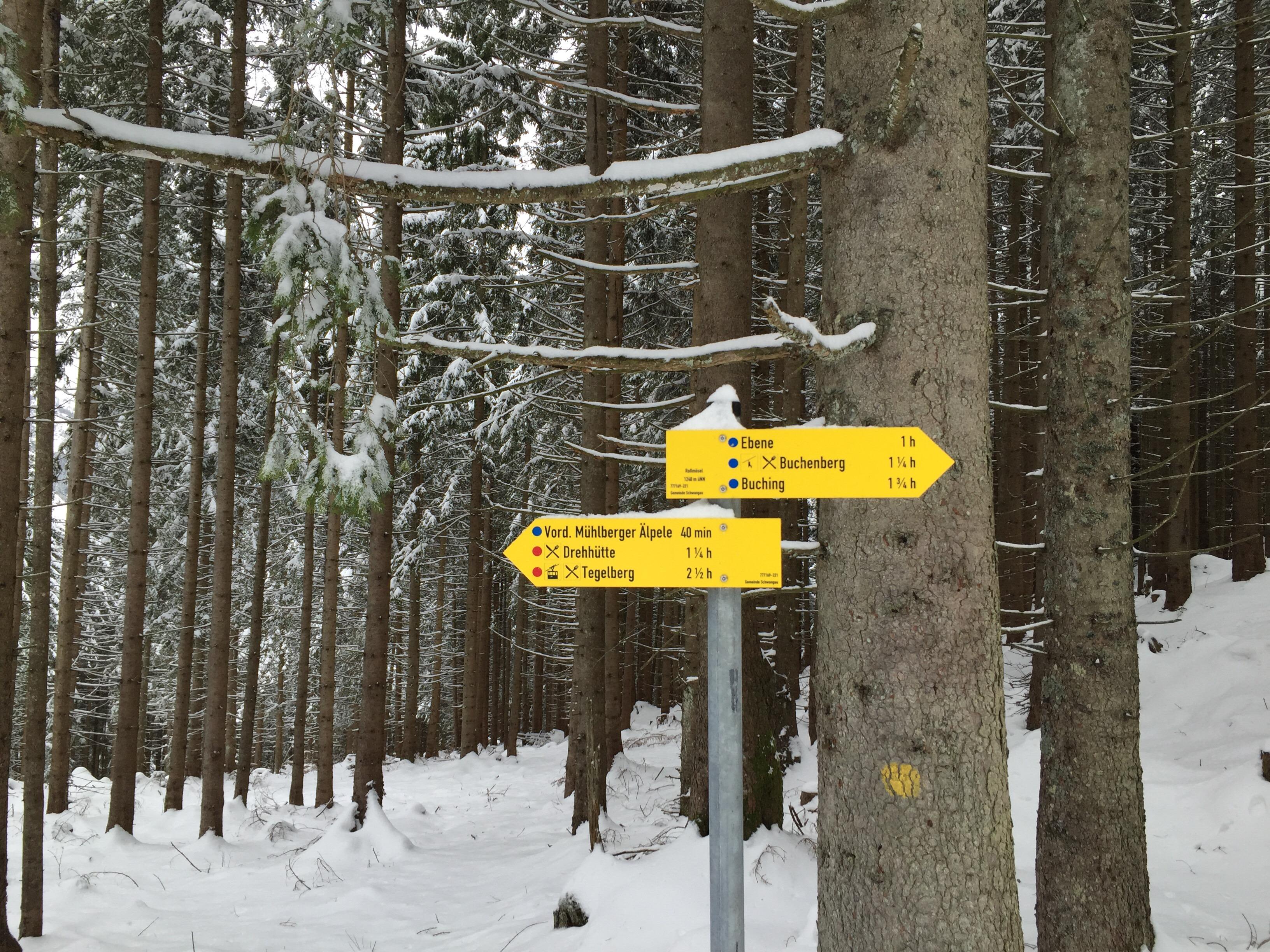 """Ein Ausflug im """"Winter""""."""