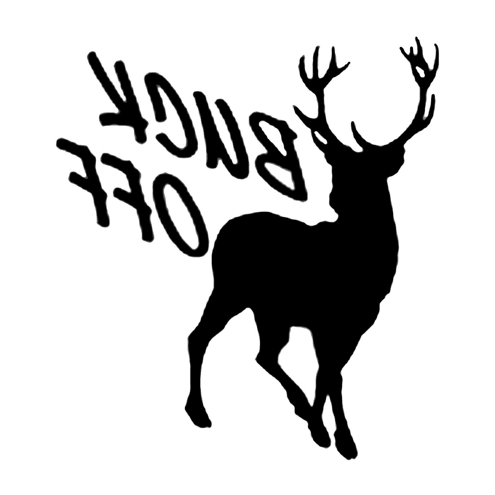 Best Free Buck And Doe Clip Art Drawing » Free Vector Art, Images.