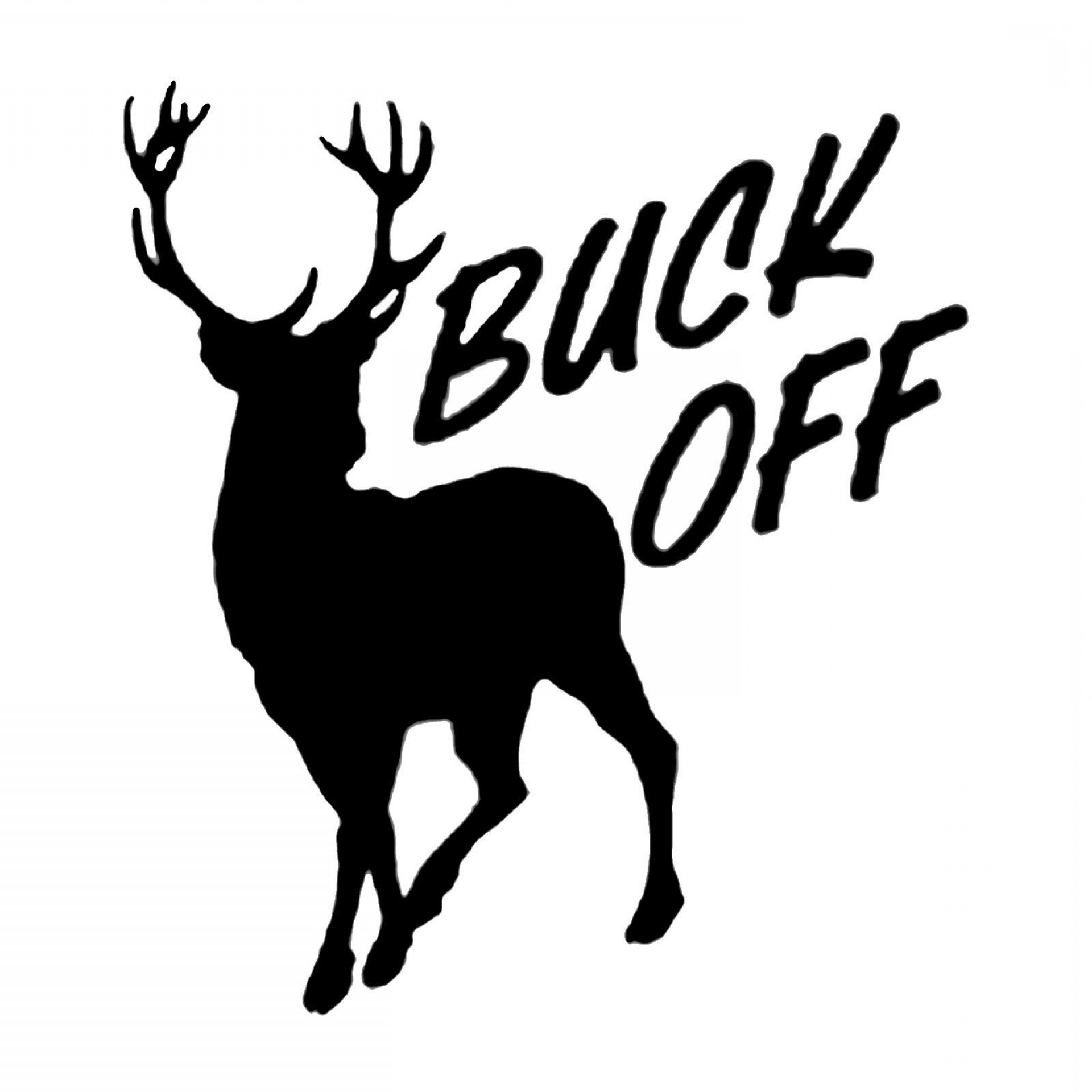Best Free Buck And Doe Clip Art Drawing.