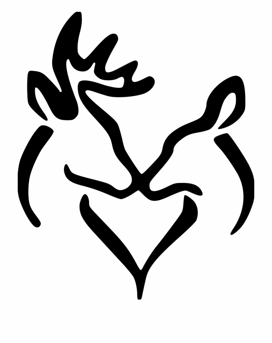 Free Buck And Doe Silhouette, Download Free Clip Art, Free.
