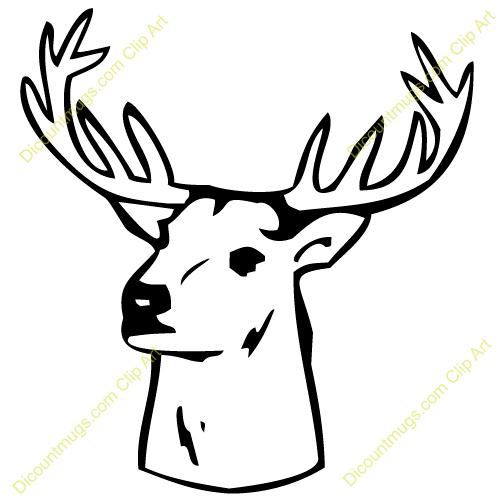Deer Head Clip Art & Deer Head Clip Art Clip Art Images.