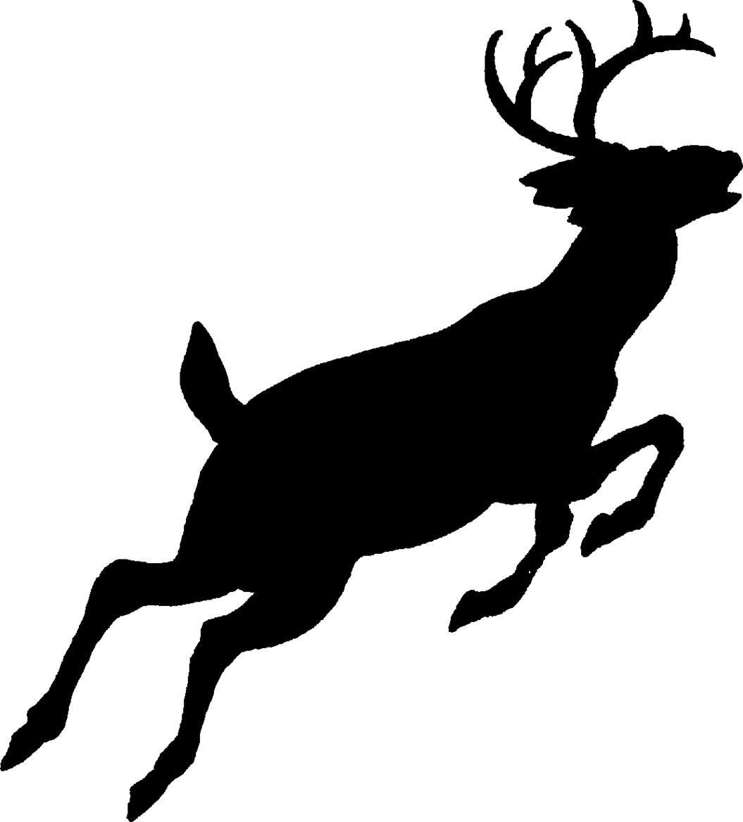 Whitetail Deer Clip Art, Buck Free Clipart.