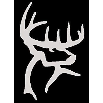 Amazon.com: Buck Commander White Hunting Window Decal.