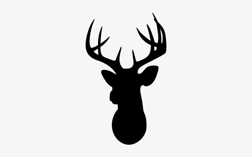 Deer Head Silhouette Png Svg Transparent.