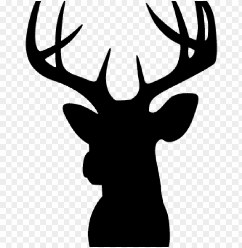 buck clipart moose head.