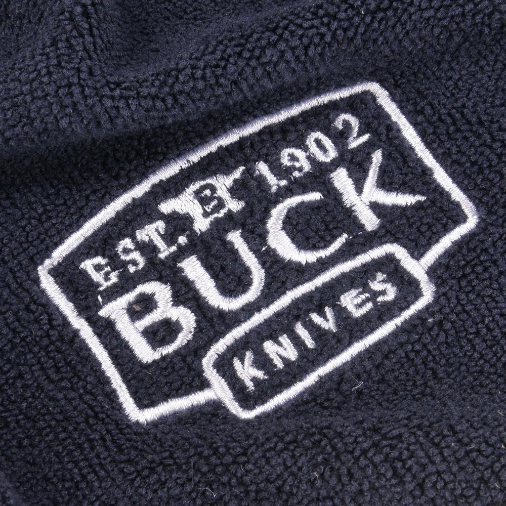 Entering BUCK fishing towel back knife logo approximately 63*37cm BUCKKNIFE  grommet carabiner Fishingtowel face towel.