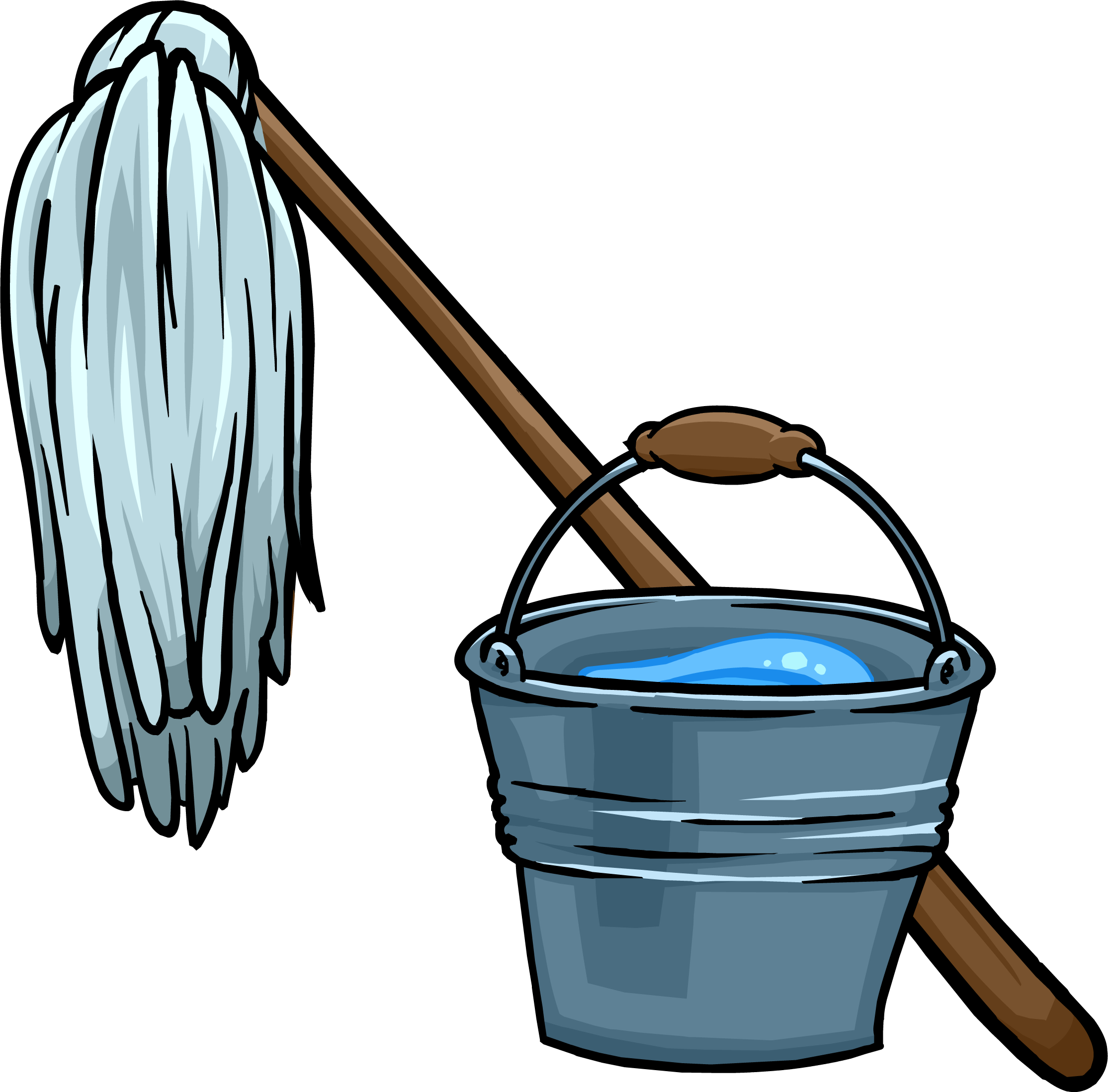 607 Mop free clipart.
